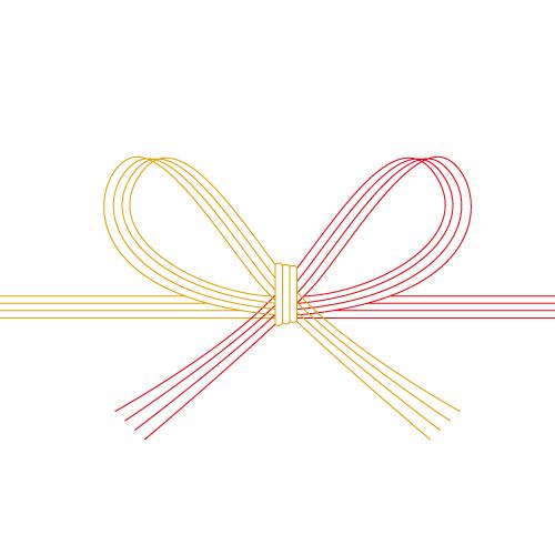 飾り紐、水引の帯紐イラスト
