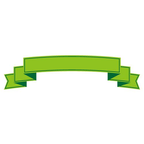 緑色の帯イラスト