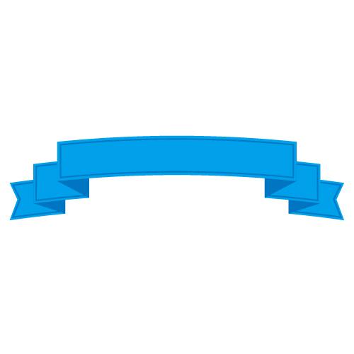 青色の帯イラスト